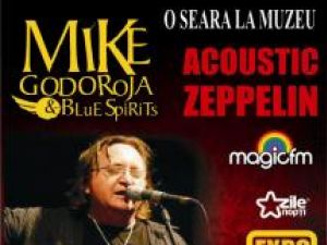 O seară la muzeu...: Mike Godoroja şi Blue Spirit concertează la Muzeul de Istorie