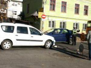 """Accidentul s-a petrecut la câţiva metri de trecerea de pietoni din zona Colegiului Naţional """"Petru Rareş"""""""
