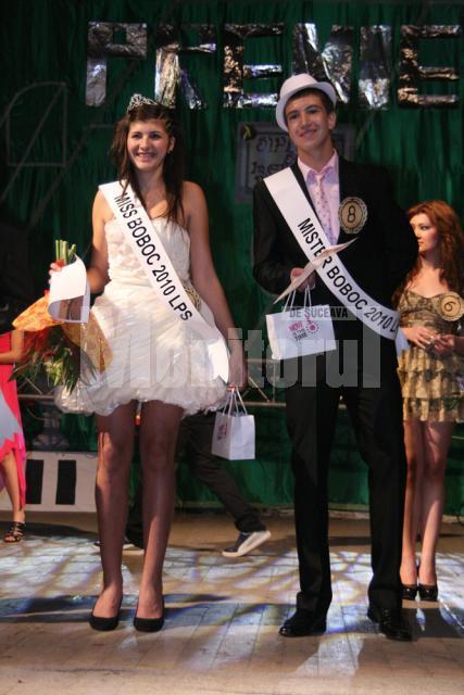 Miss Boboc - Roxana Ilaş, Mister Boboc - Ştefan Amanoloaie