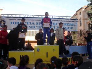 Tinerii atleţi dorneni au prins podiumul la Braşov