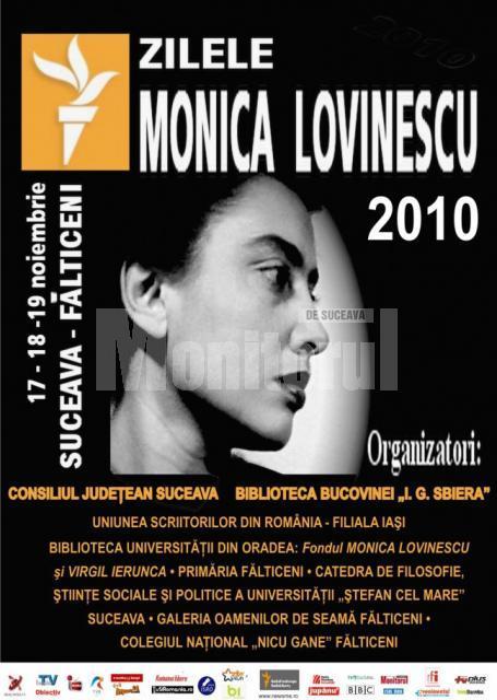 """17 – 19 noiembrie: """"Zilele Monica Lovinescu"""", ediţia a treia"""