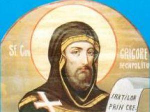 Calendar ortodox: Astăzi se sărbătoreşte Sfântul Grigorie Decapolitul