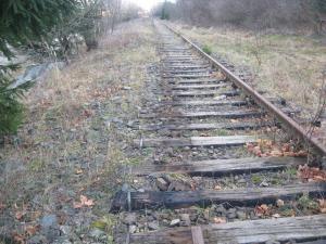 Calea ferată, descompletată pe mai multe porţiuni