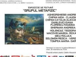 """Biblioteca Bucovinei: Expoziţia de pictură """"Grupul Metafizic"""""""