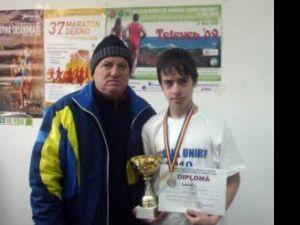 Constantin Nechita, alături de elevul său, Andrei Leancă