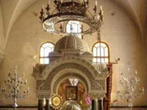 Fragmente din Moastele Sfantului Apostol Andrei din biserica dedicata lui in Patras
