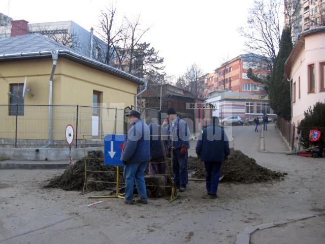 În cel mai bun caz, strada Tudor Vladimirescu va fi redată circulaţiei la finele săptămânii
