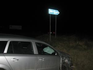 Şoferul care a depăşit pe linie continuă a fost protejat de airbaguri şi a scăpat fără leziuni