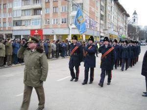 Ceremonialul militar organizat, ieri, de Ziua Naţională