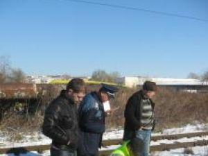 La faţa locului a venit şi un echipaj de poliţie din cadrul Serviciului Criminalistic