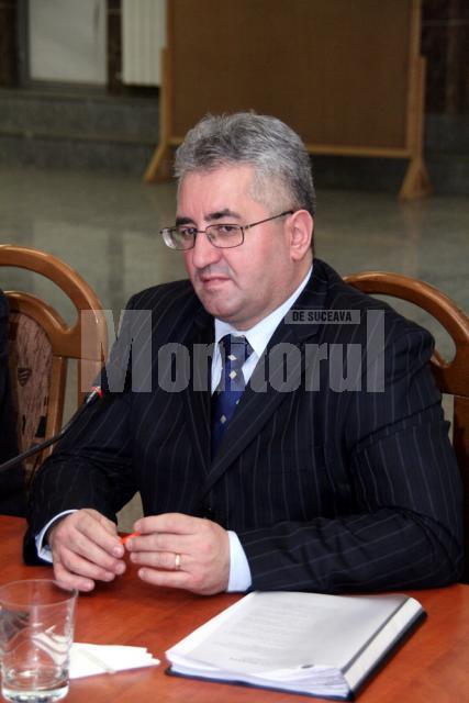 """Ion Lungu: """"Consolidarea podului de peste râul Suceava este principala noastră prioritate în această perioadă"""""""