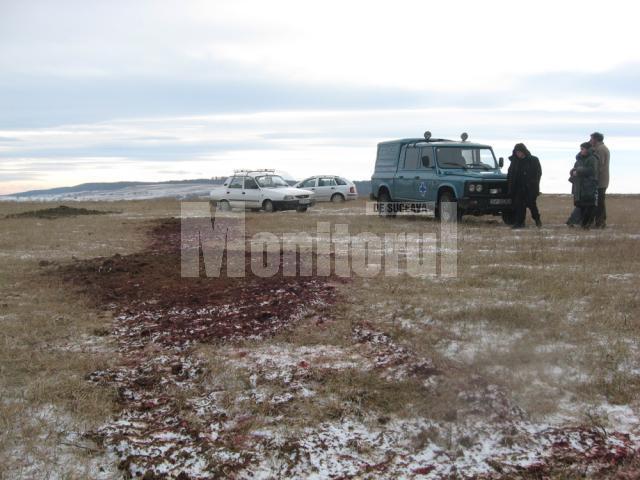Mizeria găsită ieri de autorităţi în câmp