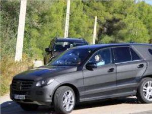 Mercedes ML 2011 Prototype