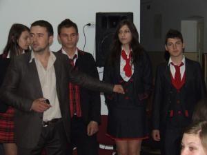 Aşa arătau uniformele cu care  au impresionat, iniţial, reprezentaţii firmei vasluiene