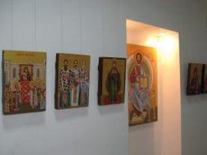 Secvenţă din expoziţia Eikon, Symbolon, Eidolon
