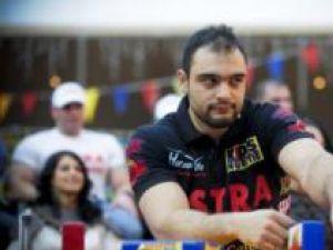 Ion Oncescu a cucerit pentru a cincea oară titlul de campion mondial la skandenberg. Foto: INTACT Images