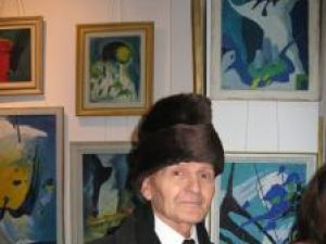 Mihai Ferbei la vernisaj