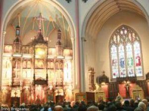 La Biserica Românească Holborn, din centrul Londrei, un adio trist în memoria lui Bogdan Gabriel Pădureţ