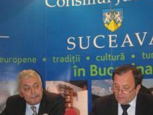 Directorul ADRNE, Constantin Apostol, şi preşedintele Consiliului de Dezvoltare a Regiunii Nord-Est, Gheorghe Flutur