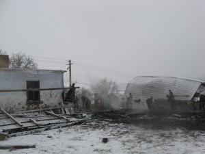 Imensul dezastru rămas în urma incendiului