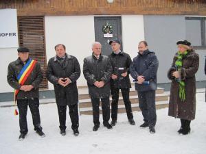 La Dumbrava-Grăniceşti a avut loc o scurtă festivitate