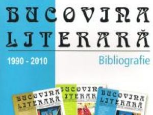 """Instrument de lucru: """"Bucovina literară - Bibliografie 1990-2010"""""""