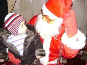 Copiii pompierilor din Suceava au avut parte deja de vizita lui Moş Crăciun