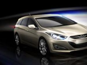Hyundai i40 Station Wagon Rendering