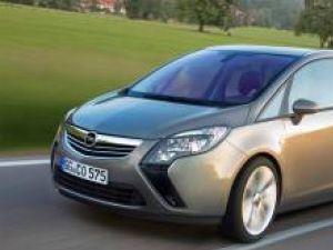 Opel Zafira Rendering