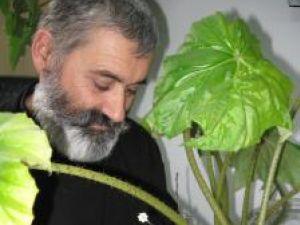 Tradiţia florilor de Crăciun a deprins-o George Celsie de la bunica sa