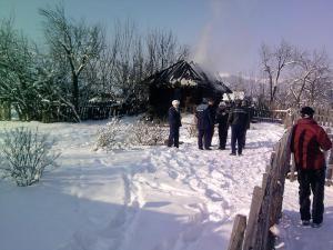 Incendiul în care femeia şi-a pierdut viaţa s-a petrecut pe 16 decembrie
