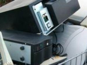 În cadrul campaniei s-au colectat şi predat spre reciclare 8.268,8 kg de deşeuri de echipamente electrice şi electronice