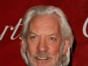 Donald Sutherland a primit o stea pe Hollywood Walk of Fame