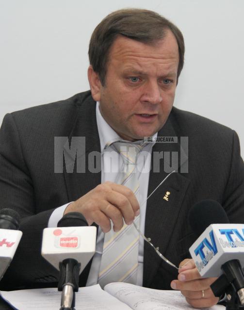 """Gheorghe Flutur: """"Îmi exprim mulţumirea că am găsit înţelegere la votul pentru bugetul Consiliului Judeţean"""""""