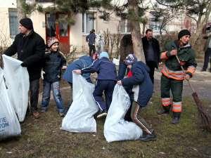 Campania de curăţenie de primăvară se va desfăşura până pe 15 aprilie