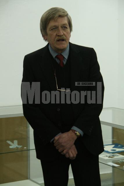 Muzeograful Dan Petrovici, şeful Secţiei de istorie a muzeului sucevean