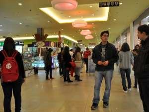 Vizitatorii mall-ului au fost impresionaţi de acţiune