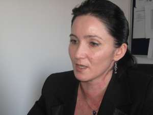 Şefa Comisariatului Regional de Mediu Suceava, Diana Găşpărel
