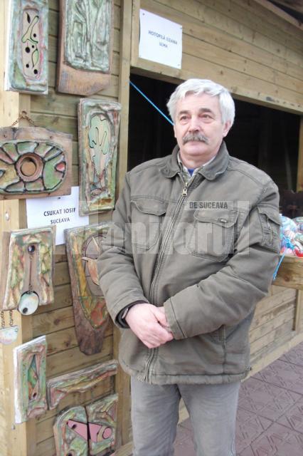 Iosif Csukat şi plachetele sale decorative