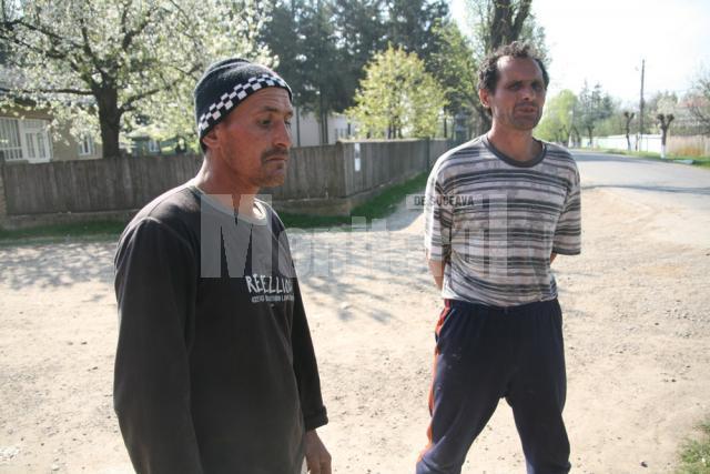 Mirel Fasolă împreună cu fratele său Ilie Fasolă
