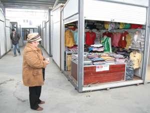 Tronson reabilitat al Bazarului Suceava