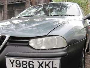 La percheziţia maşinii marca Alfa Romeo s-au găsit cinci plicuri despre care anchetatorii au motive să creadă că este vorba de substanţe etnobotanice