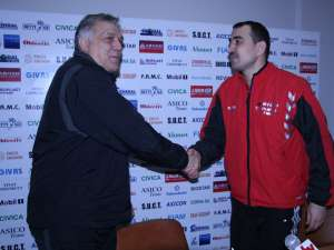 Vasile Stângă l-a felicitat pe Leonard Bibirig pentru munca depusă la Suceava
