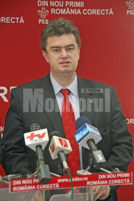 Cătălin Nechifor, preşedintele PSD Suceava
