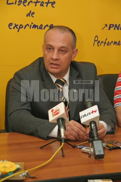 Alexandru Băişanu, preşedintele PNL Suceava