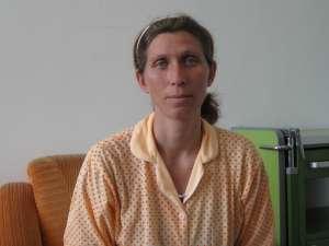 Gabriela Lupu este una dintre cele două mămici din judeţul Botoşani, care, ieri, se aflau internate în Maternitatea Suceava