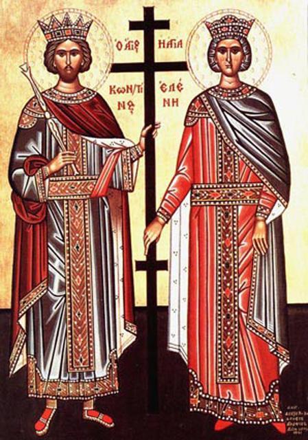 Astăzi se sărbătoresc Împăraţii Constantin şi Elena