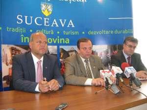Aurel Olărean, Gheorghe Flutur şi Gheorghe Pilă