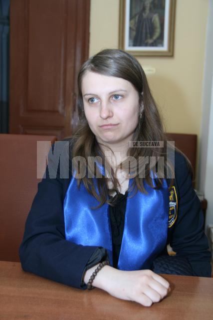 Eliza Grigoriciuc pleacă în Austria, să facă medicina, dar vrea să revină în ţară