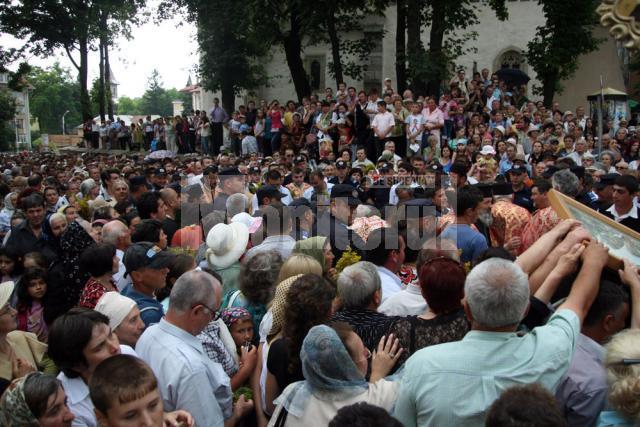 Pelerinajul Sfântului Ioan cel Nou, pe străzile Sucevei